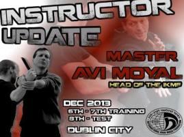 Avi Moyal - Instructor Update - Poster